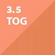 ergoPouch Winter 2 in 1 Baby Sleeping Bag & Sleepsuit 3.5 Tog