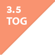 ergoPouch Organic Cotton Sleep Suit Bag 3.5 Tog