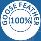 Downia Goose Feather Pillow