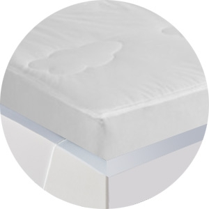 Mattress Protector encased bed