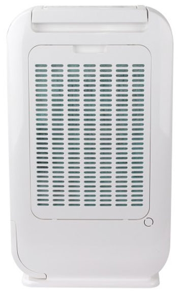 Ionmax ION610 desiccant dehumidifier back