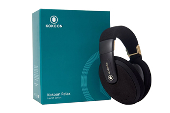 Kokoon packaging and the headset
