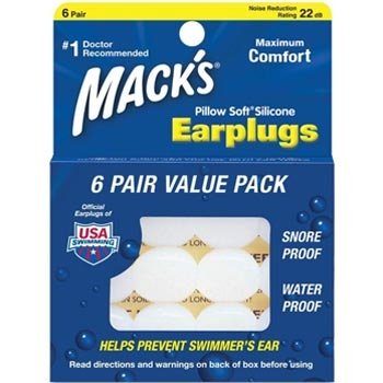 Macks Moldable Silicone Earplugs