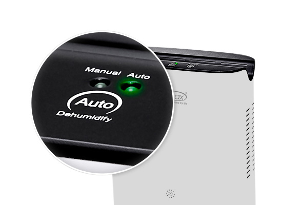 Ionmax 681 Manual and Auto Dehumidification Modes