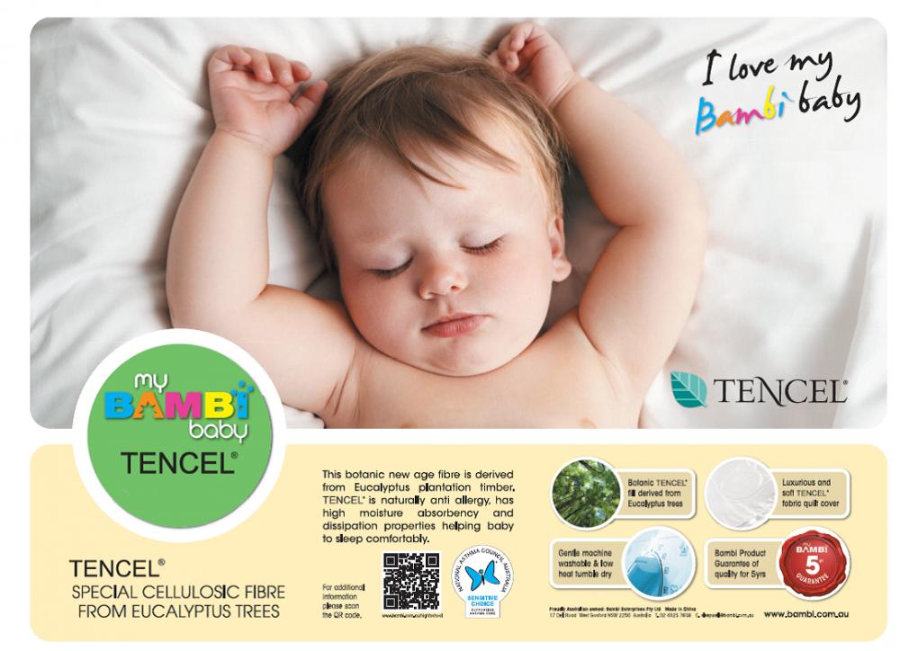 Bambi Tencel Baby Pillow Case