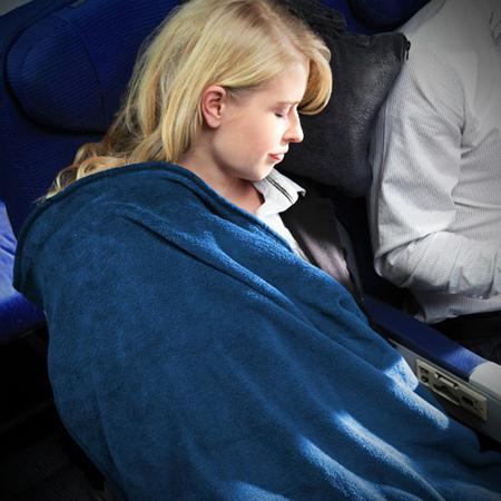 Cabeau Travel Fold-n-Go Blanket