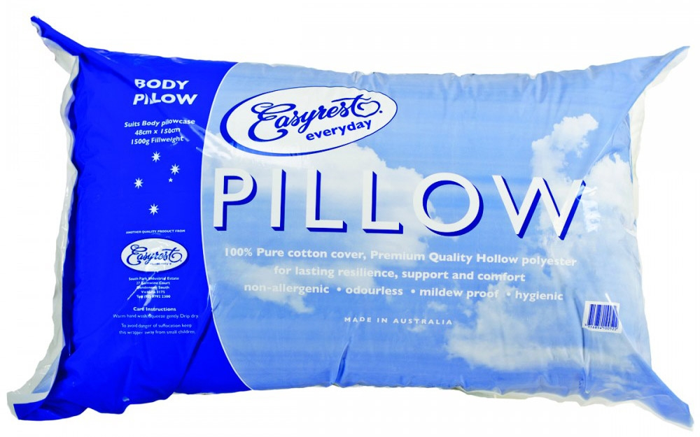 Easy Rest Everyday Body Pillow Packaging