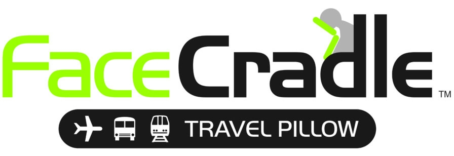 Face Cradle Travel Pillow Logo