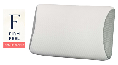 John Cottom Memory Foam Pillow Medium Profile Firm Feel