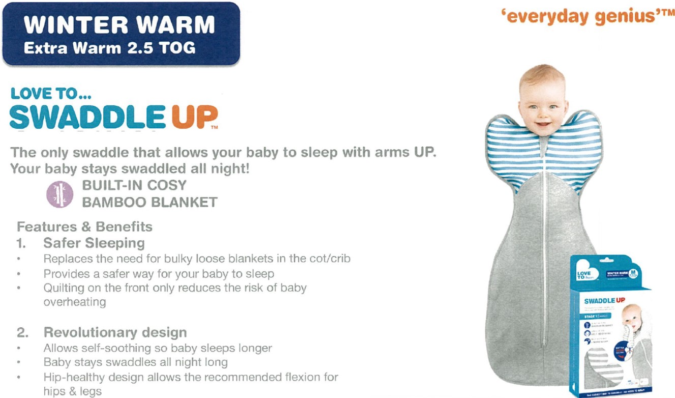 Love to Dream Swaddle Up Winter Warm 2.5 Tog