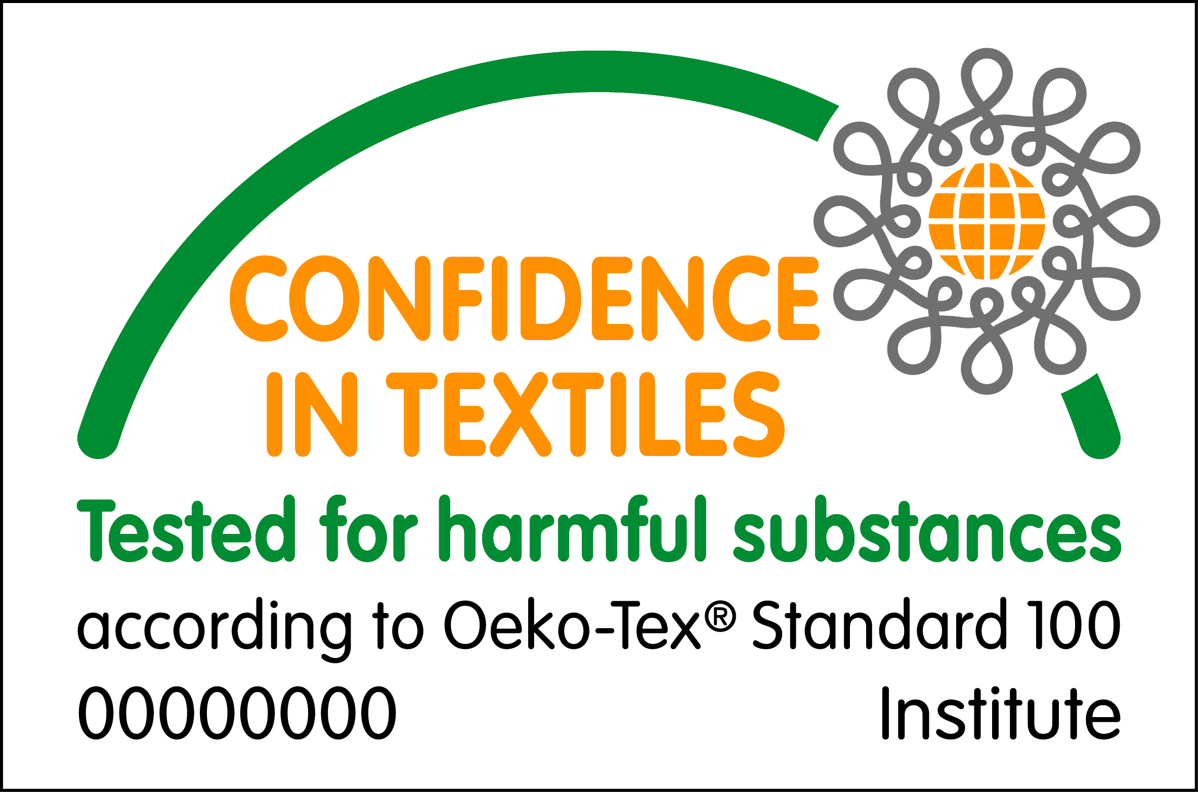 OEKO-TEX 100 approved