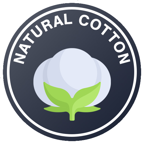 100% Supima Cotton cover Logo