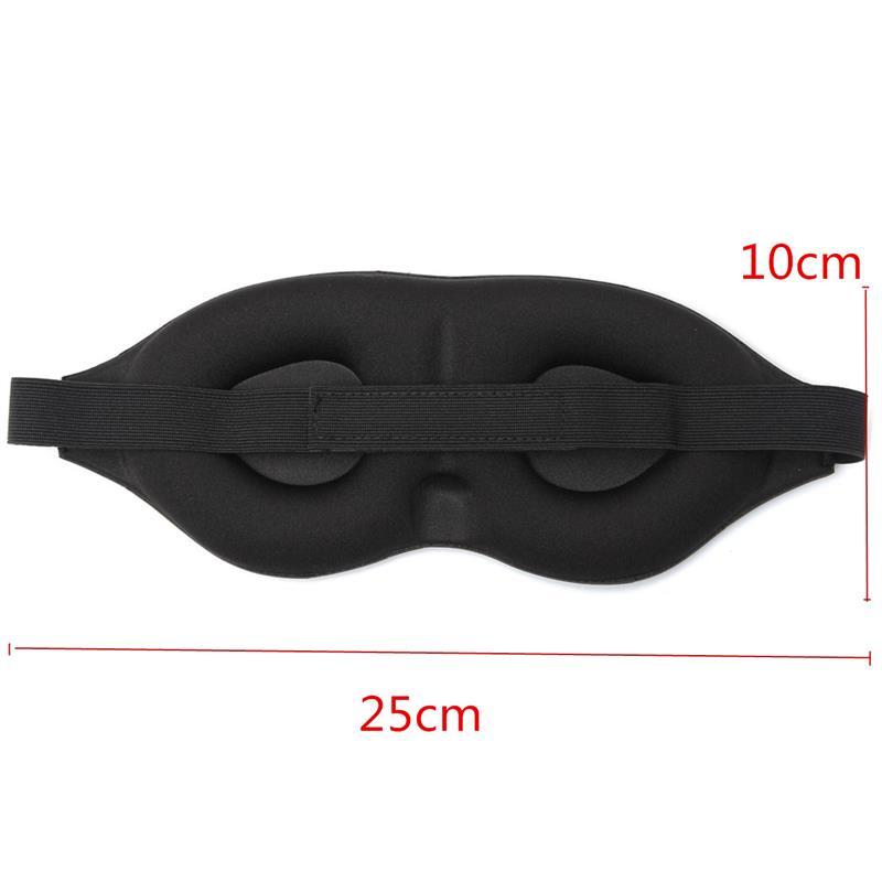 Travel Easy Contoured Memory Foam Sleep Mask Comfortable
