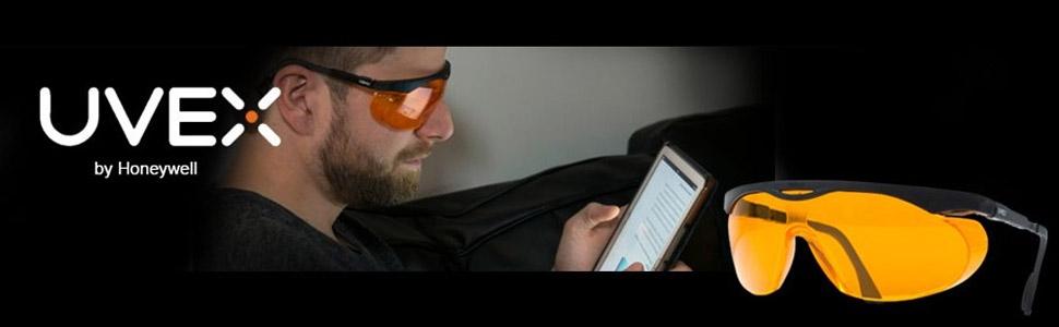 b3b10ecd5a01 Uvex Skyper Blue Light Blocking Computer Glasses