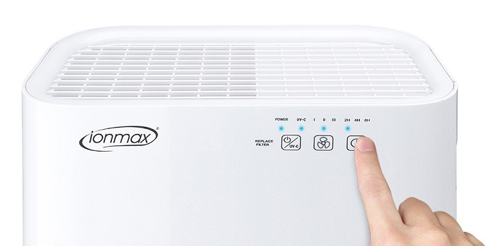Ionmax ION 420 Breeze Air Purifier Front Panel