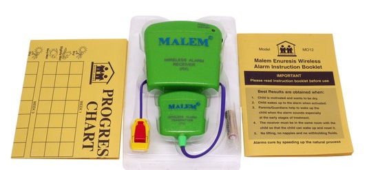 Malem Bedwetting Alarm inclusions