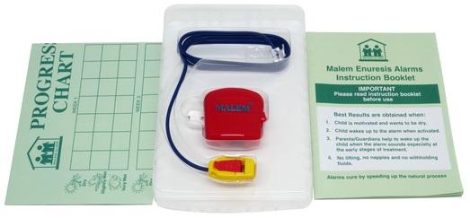 Malem Bedwetting alarm inclusions